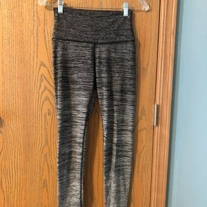 Aerie Gray Ombre Leggings in Size Small